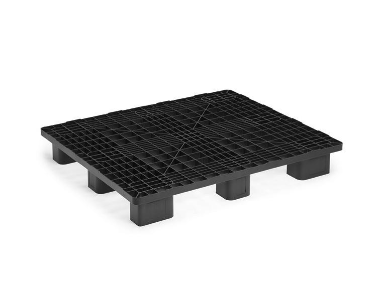 Monoblock 1300x1100-Palette mit 9 Füßen