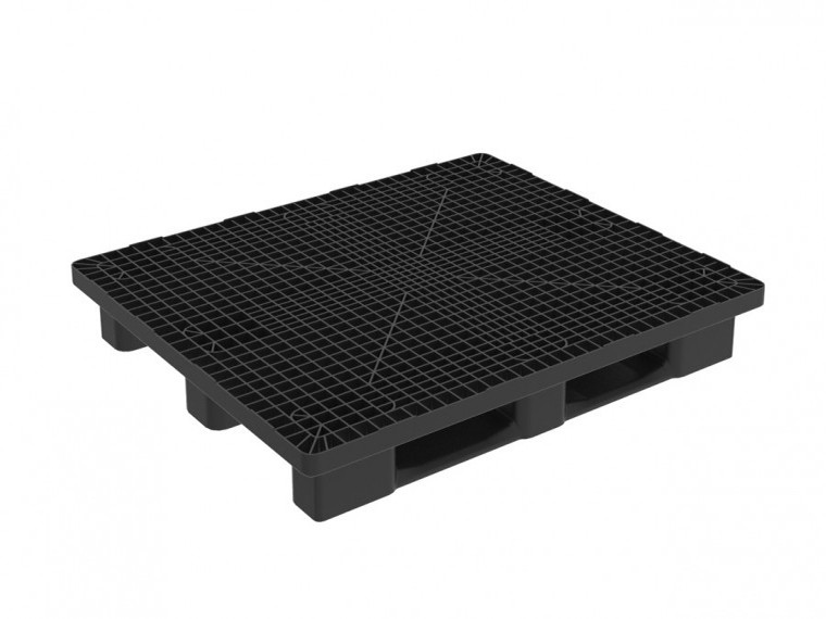 HEAVY MONOBLOCK 1300X1100 PALLET WITH 3 RUNNERS