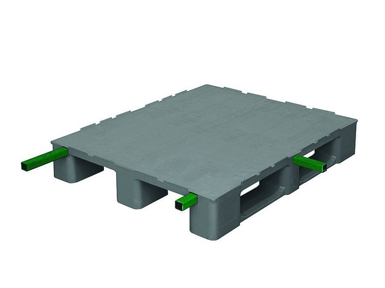 "MONOBLOC INDUSTRIAL PALLET 3 RUNNERS REINFORCED ""H"""