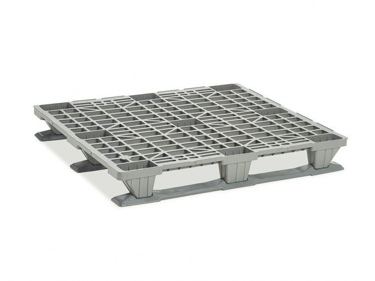 PALET INDUSTRIAL LIGERO CON PATINES