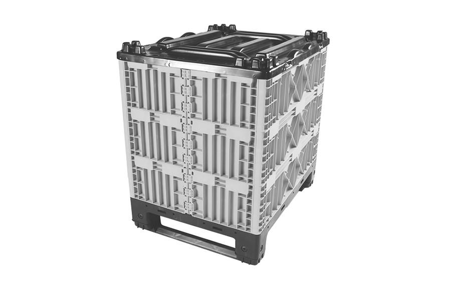 Container avec colliers modulaires pliant 800x600