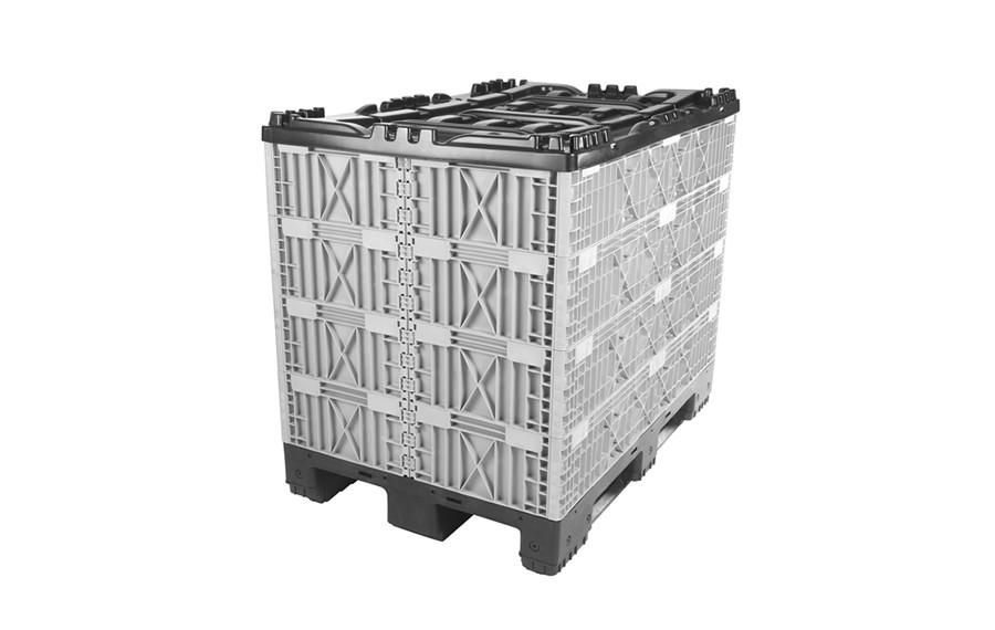 Container avec colliers modulaires pliant 1200x800