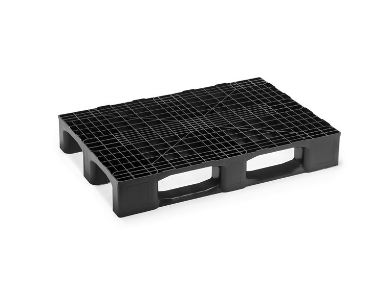 MONOBLOCK EURO PALLET WITH THREE RUNNERS