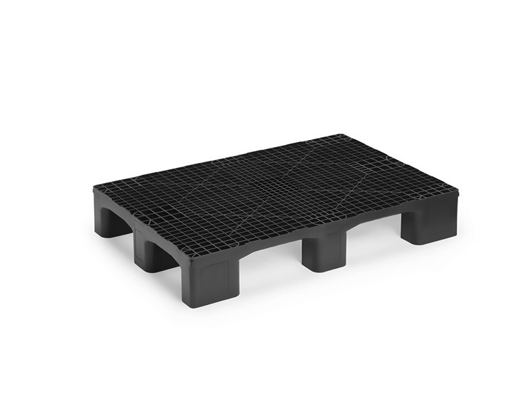 HEAVY MONOBLCOK EURO PALLET WITHOUT RUNNERS