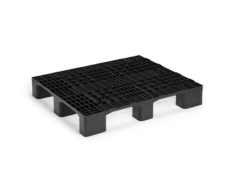 MONOBLOCK INDUSTRIAL PALLET WITHOUT RUNNERS