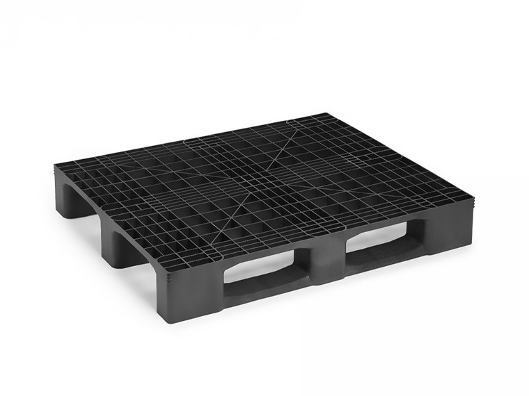 MONOBLOCK INDUSTRIAL PALLET WITH 3 RUNNERS