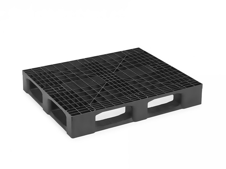MONOBLOCK INDUSTRIAL PALLET WITH 5 RUNNERS