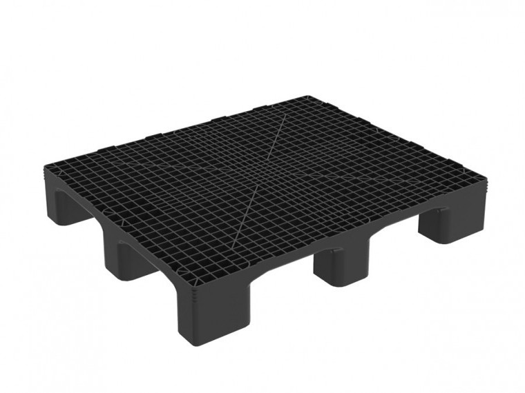 HEAVY MONOBLOCK INDUSTRIAL PALLET WITHOUT RUNNERS