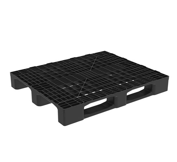 monoblock industriepalette mit 3 kufen kunststoffpaletten logic 1210 g3 nortpalet. Black Bedroom Furniture Sets. Home Design Ideas