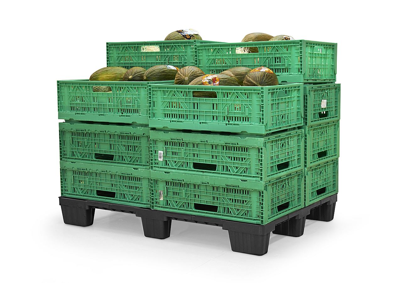 Plastic Pallets for the fruit and vegetable sector