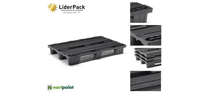 Premio LiderPack para el nuevo modelo de palet de plástico NPT-1208-HEF1