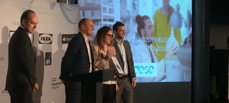 Nortpalet recibe de ENDESA el Premio a la Sostenibilidad y Eficiencia Energética