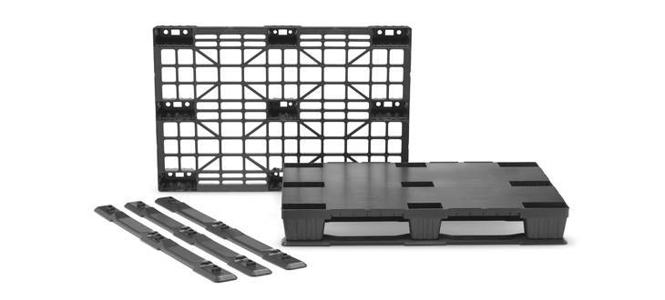 Nortpalet completes the lightweight pallets range 1200×800 with the launch of the new closed top deck version