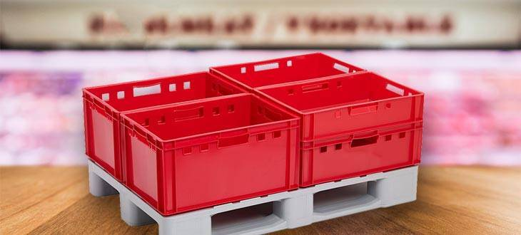 Analizamos la idoneidad de los Palets de plástico para el sector Cárnico y Avícola