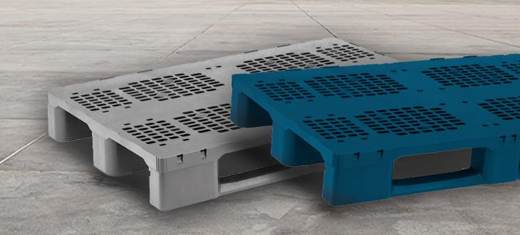 Palette en plastique EXPERT, une solution appliquée aux secteurs avec un maximum de résistance et de durabilité