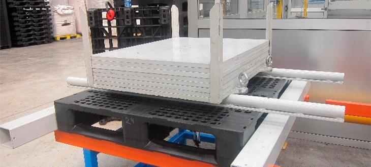 ¿Por qué son tan importantes los test de pruebas de carga estática, dinámica y en rack de los palets de plástico?