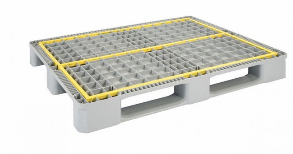 Plastic pallets as a preventive measure to guarantee the safety and hygiene of products