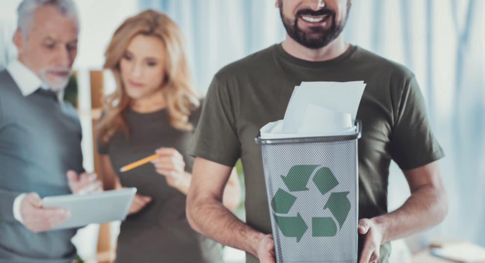 The benefits of betting on recycling and sustainable production in your company